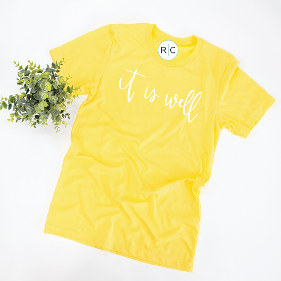 It Is Well {Yellow}
