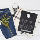 Prayer Warrior {Dark Grey Triblend}