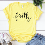 Faith As Big As A Mustard Seed {Yellow}