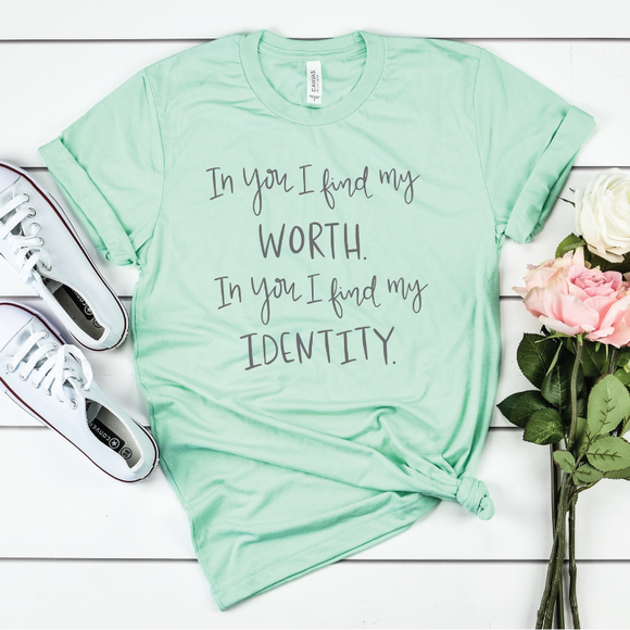 You Say {Mint Triblend Crewneck}