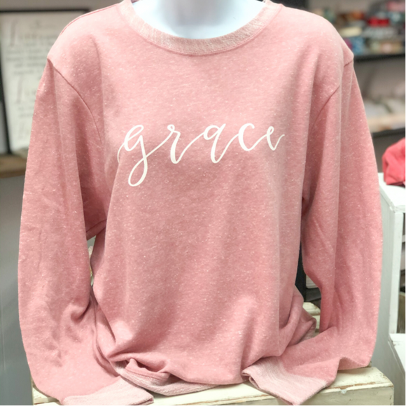Grace Terry Long Sleeve {Mauve}