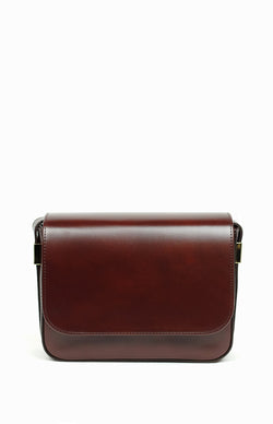 Classic box shoulder bag not designer bag, but just perfect in it's minimalism and style.