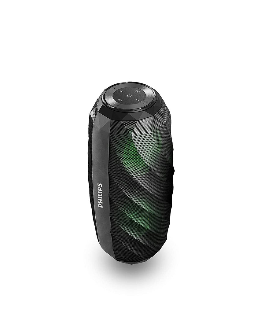 Philips Wireless Portable Speakers (Black)