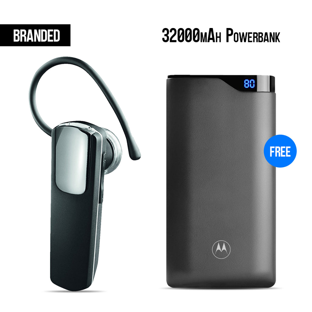 Buy Branded Bluetooth + Motorola 32000mAh Power