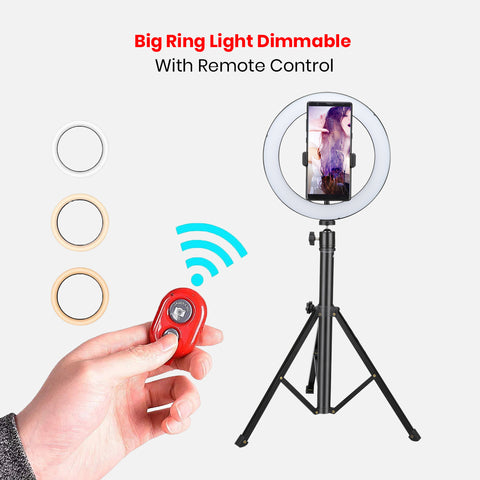 Big Ring Light Dimmable With Remote Control