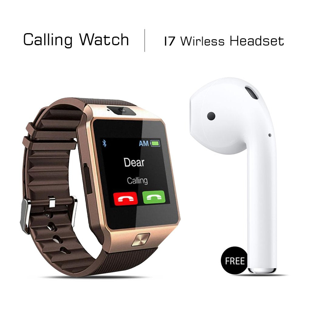 Mi Plus Calling Watch + I7 Bluetooth