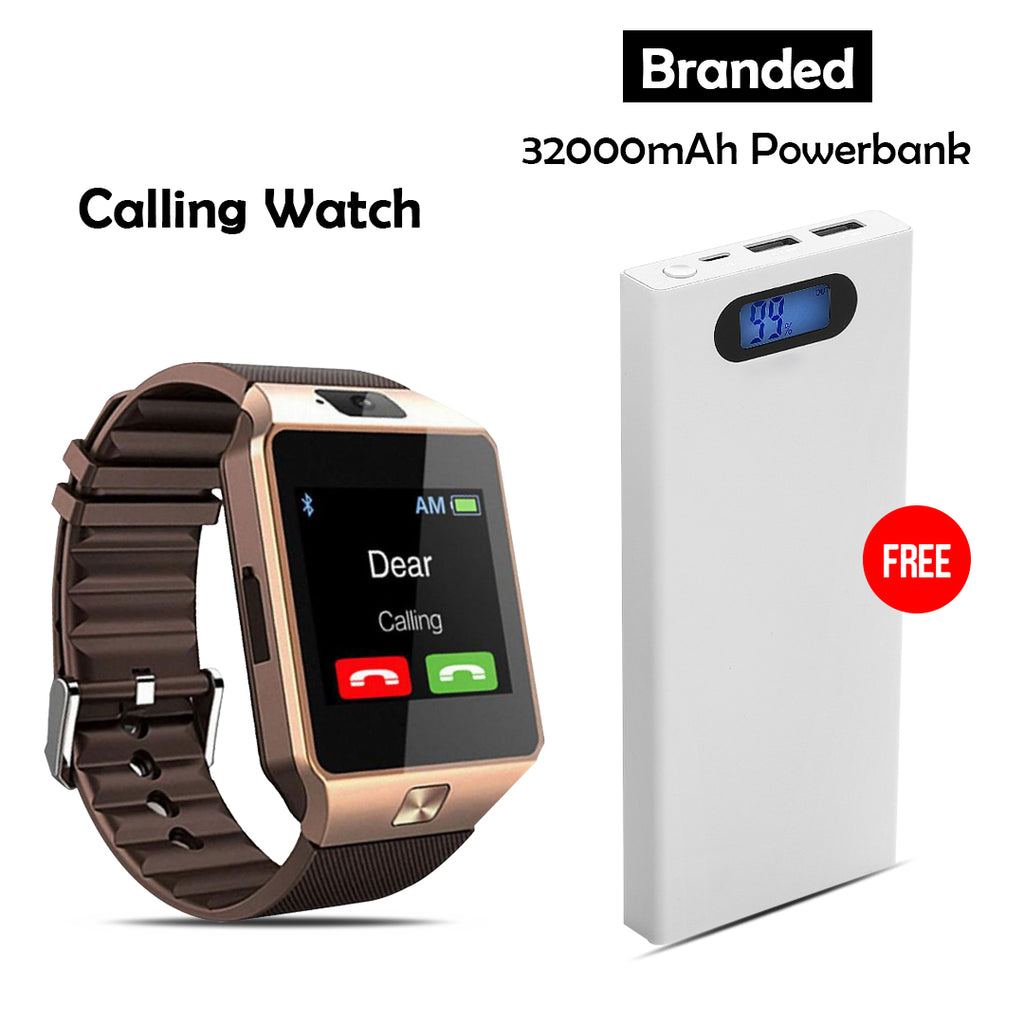 Calling Watch + 32000mAh Power Bank