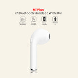 Mi Plus I7 Bluetooth Headset With Mic