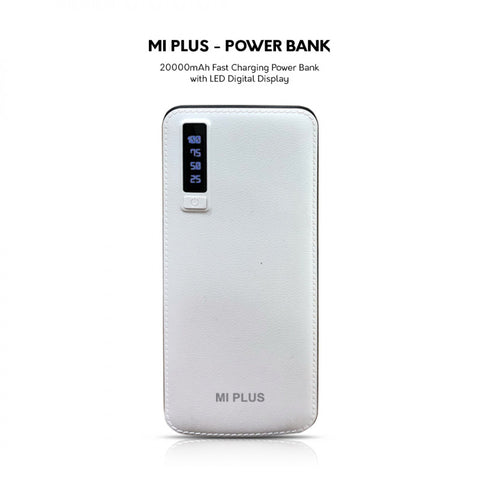MI PLUS 20000MAH POWER BANK
