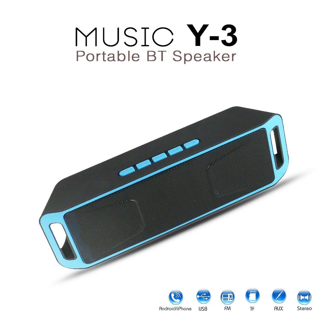 Music-Y3 Music-Player Portable Bluetooth Mobile/Tablet Speaker