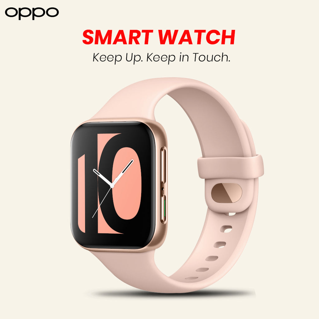 OPPO Smart Watch With Flexible Dual-Curved Display