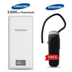 Samsung 32000mAh power bank with free Bluetooth