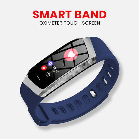 Smart Wristband Oximeter Touch Screen Magic Color Swim Detect Heart Rate