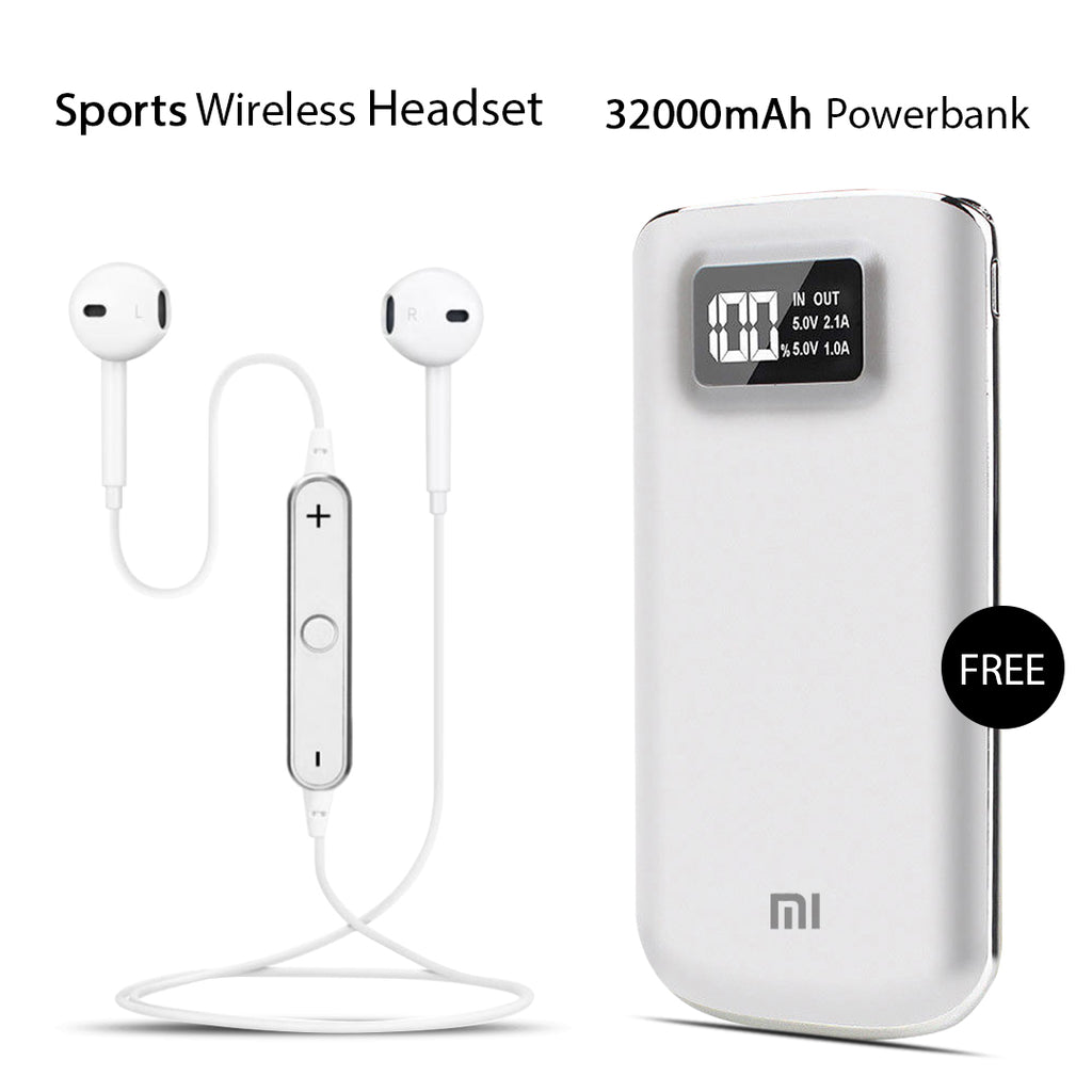 Buy Sports Headset With Free 32000mAh MI Power Bank