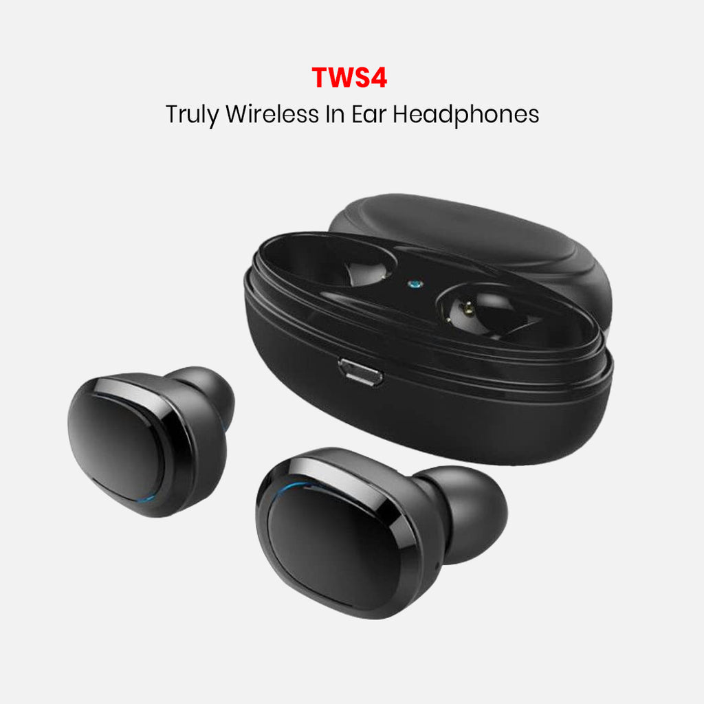 TWS4 Truly Wireless In Ear Headphones