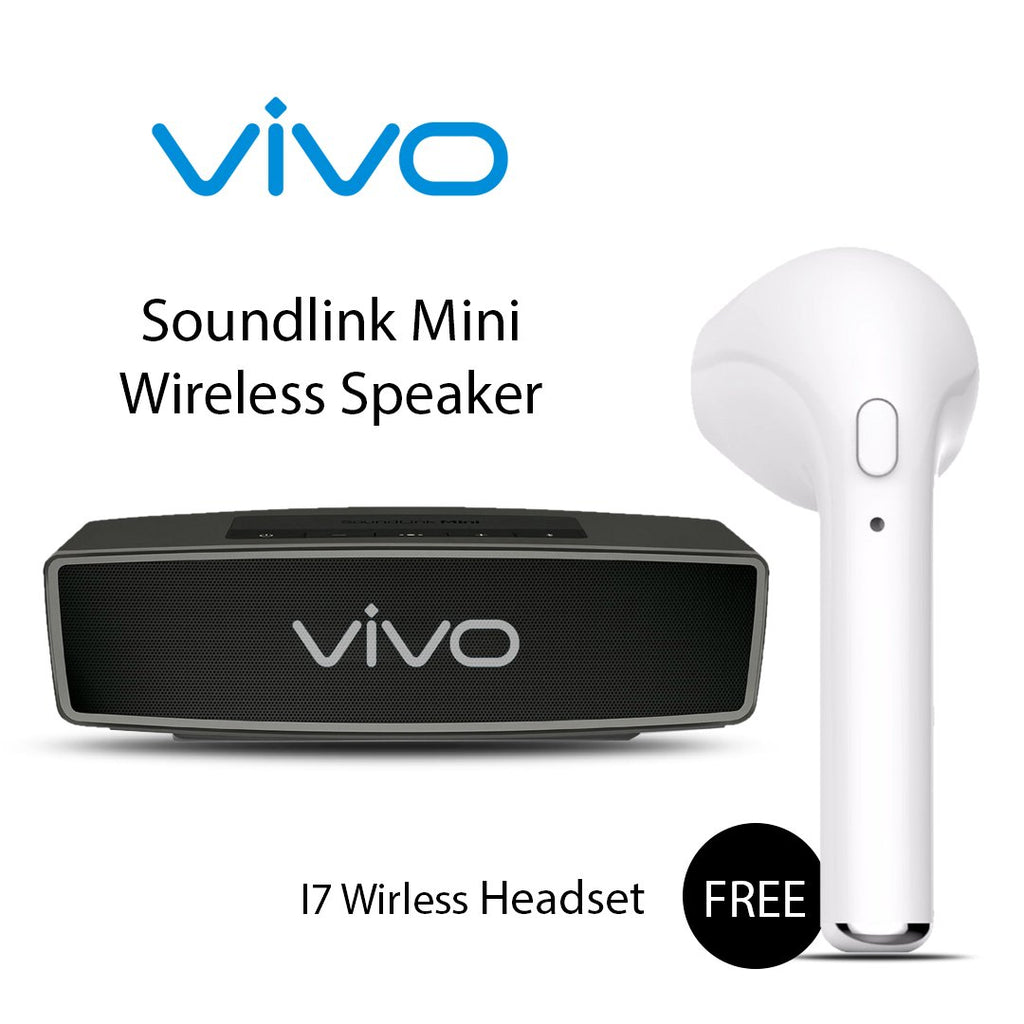 Buy VIVO Soundlink Mini Wireless Speaker with free I7 Wireless Headset