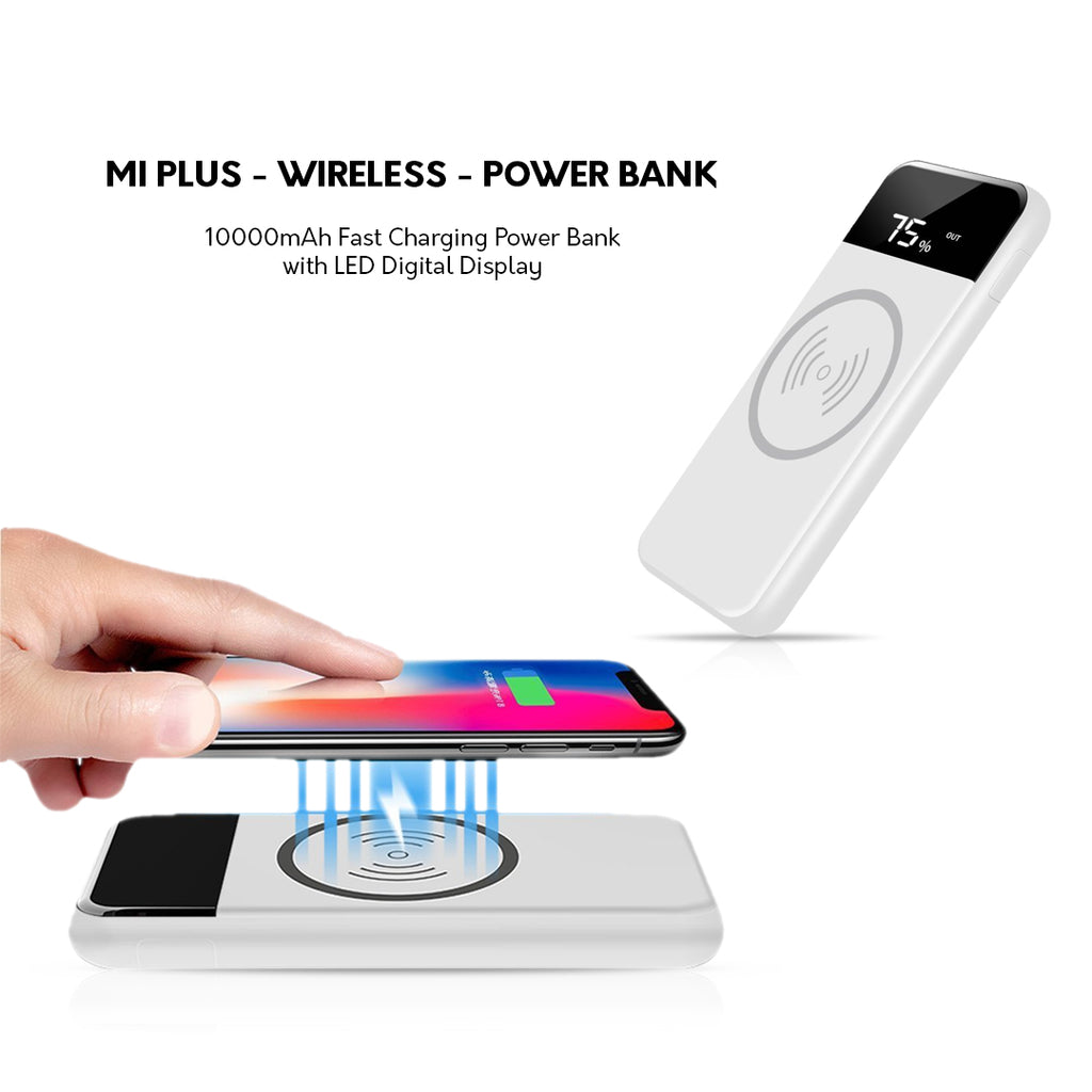 Mi Plus WIRELESS 10000mAh Power Bank