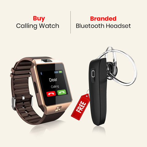 Buy Calling Watch With Free Bluetooth