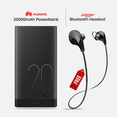 20000mAh Power Bank With Free Wireless Bluetooth Headset