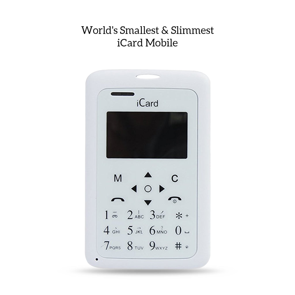 Worlds Smallest and slimmest Icard Mobile