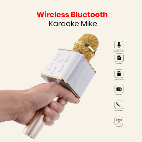 Wireless Bluetooth Karaoke Mike