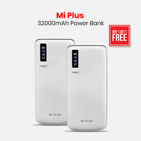 Buy 1 Get 1 Mi Plus 32000mAH Power Bank