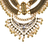 Large Collar Ethnic Statement Necklace
