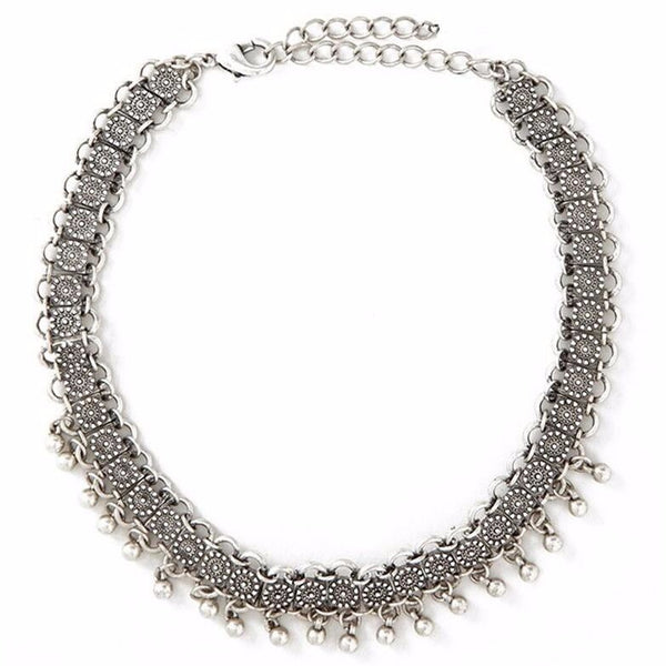 Silvia Vintage Choker Necklace