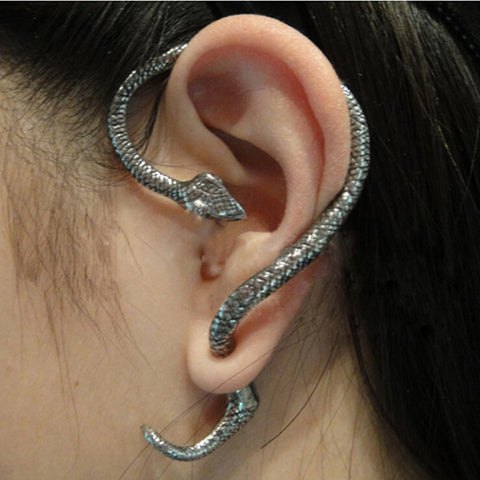 Snake Cuff Earrings