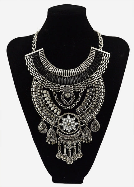 Ethnic Chandelier Maxi Necklace
