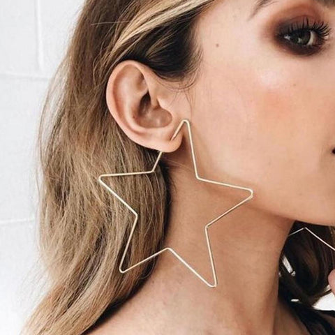 Landing Star Drop Earrings