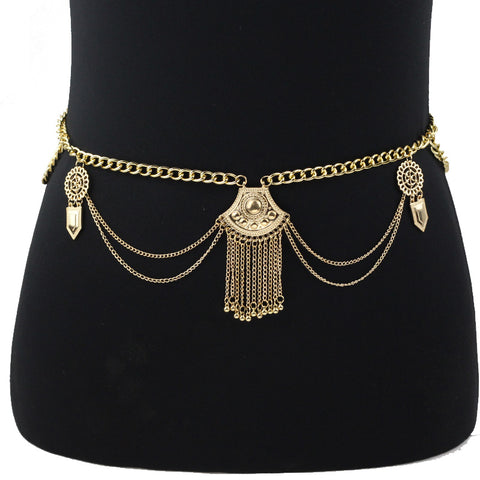 Tassel Waist Chain Statement Jewelry