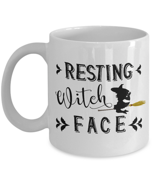 Resting Witch Face - Halloween Coffe Mug