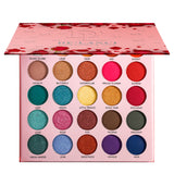 DE'LANCI Little Prince & Rose Eyeshadow Palette 25 Colors Natural Shades Shimmer Matte