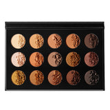 DE'LANCI 15 Colors Naked Eyeshadow Makeup Palette Nude Eyeshadow Pallete(Mocha)