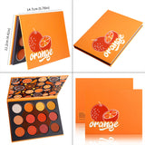 DE'LANCI 12 Color Fruity Eyeshadow Palette-Matte/Shimmer
