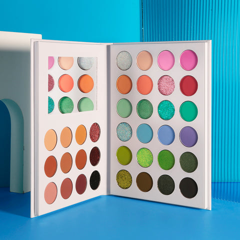 DE'LANCI New Arrival Collection:36 color double-door  eye shadow