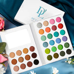 DE'LANCI New Arrival Collection:36 Color Double Pages Eye Shadow Palette