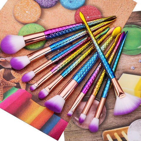 Soft makeup brush set - DE'LANCI