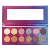 DE'LANCI 12 Color Eyeshadow Pallete Nude Matte Shimmer Eye shadow Pigment Makeup Palette - DE'LANCI