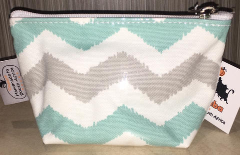Mini Make-up bag zigzag
