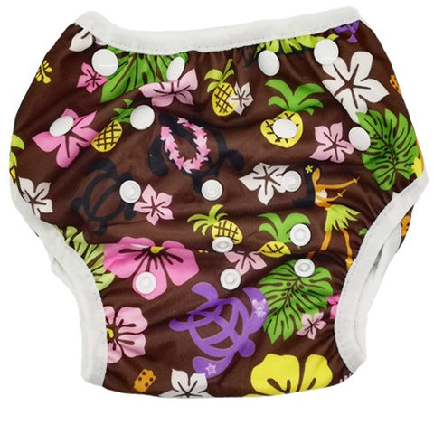 Bam+Boo Swim Nappy - Hawaiian