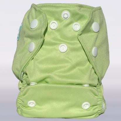 Bam+Boo Newborn All-In-One Pastel Green