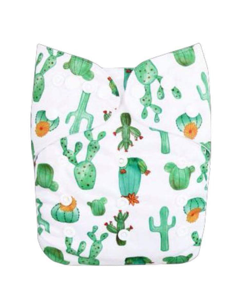 Mama Bear Pocket Nappy -cactus