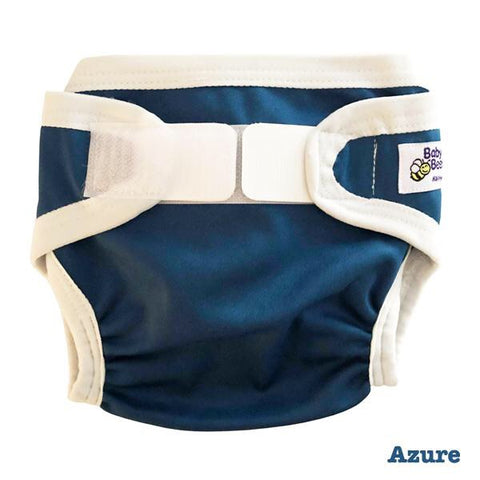 Baby BeeHinds PUL cover - Azure - Large