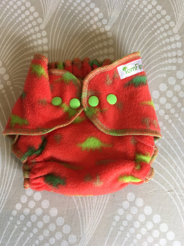 Tomfips Fleece cover Newborn - Dino