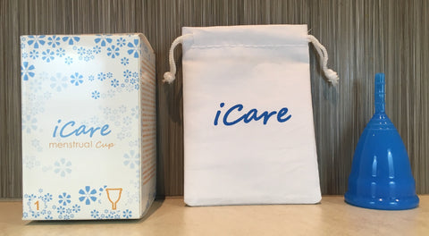 iCare Menstrual Cup Size 1 Blue