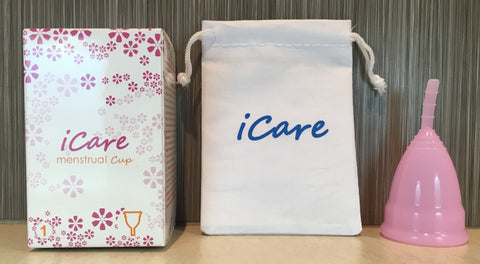 iCare Menstrual Cup Size 1 Pink