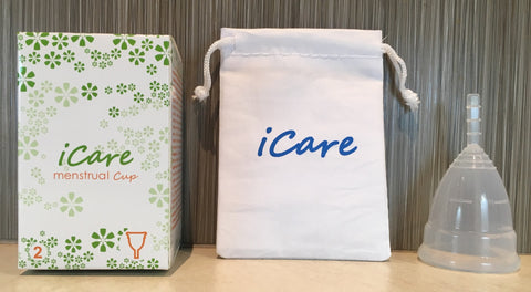 iCare Menstrual Cup Size 2 Clear