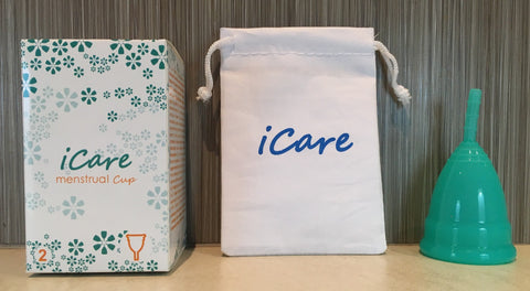 iCare Menstrual Cup Size 2 Teal